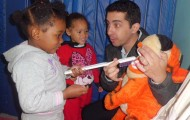 Mini Grupo I AB Visita do Dentista como fazer a escovação correta